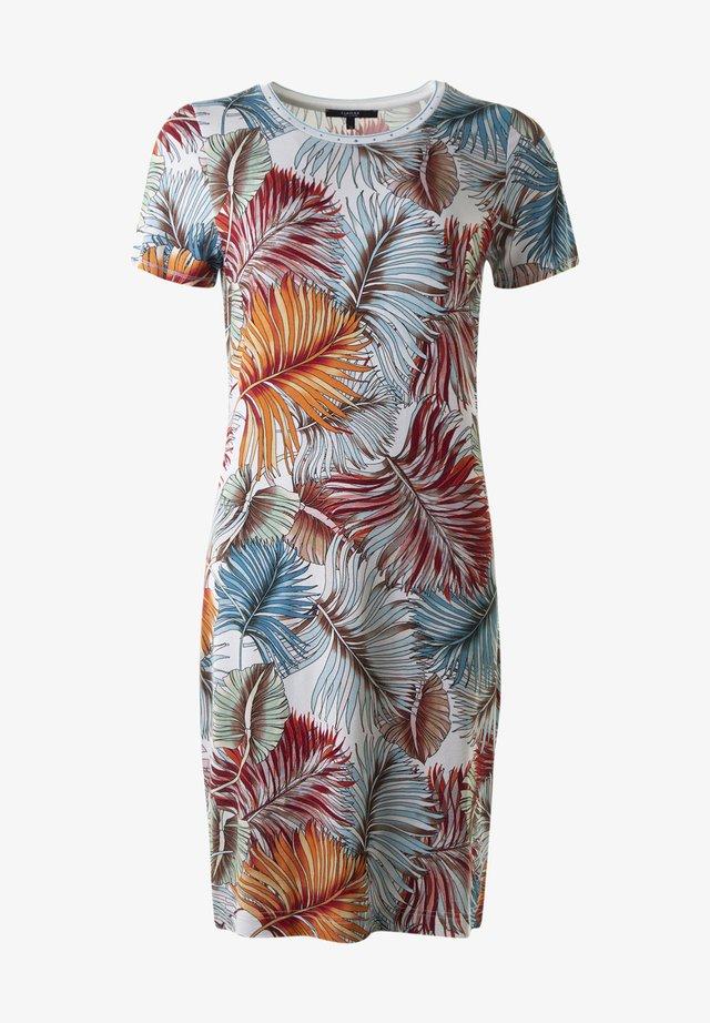 FLAMINA  - Jersey dress - 415 lachscombo