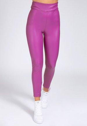 PRISCILLA  - Leggings - Trousers - violett