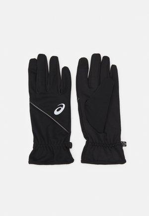 THERMAL GLOVES UNISEX - Gloves - performance black