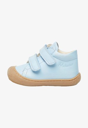 Touch-strap shoes - azurblau