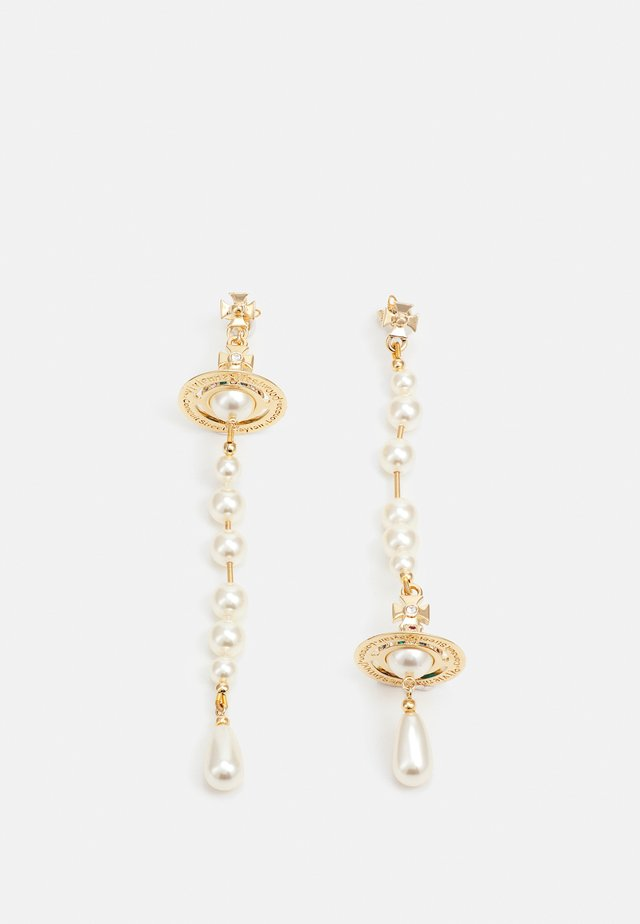 BROKEN EARRINGS - Oorbellen - gold-coloured