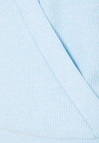 Vila - VIHAUDI WRAP CARDIGAN - Cardigan - blue bell - 2