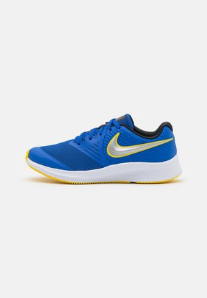 STAR RUNNER 2 UNISEX - Zapatillas de running neutras - game royal/metallic silver/black/speed yellow