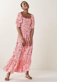 Next - SHIRRED - Maxi dress - multi-coloured - 1