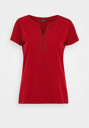 Blouse - deep red