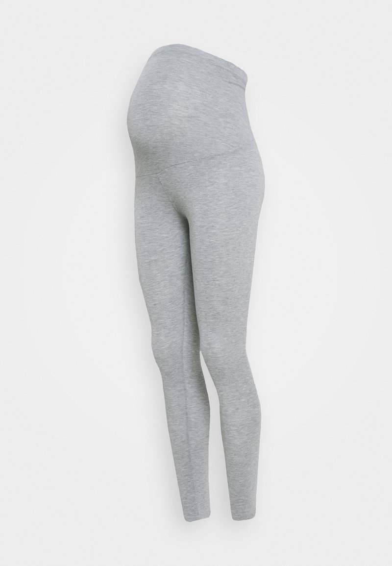 Dorothy Perkins Maternity - OVERBUMP  - Tracksuit bottoms - grey marl