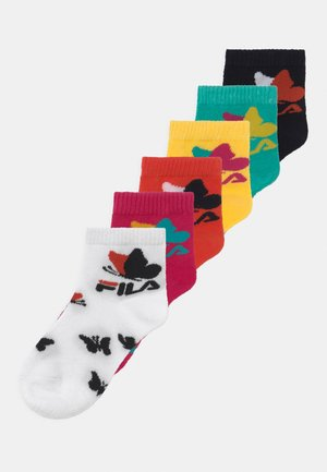 JUNIOR GIRLS QUARTER PACK 6  - Socks - multi-coloured