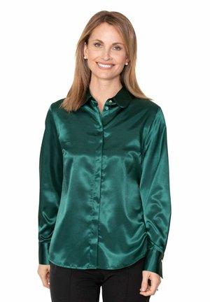 Button-down blouse - grün