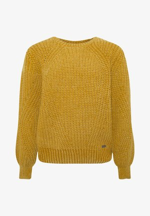 KATHERINE - Jumper - dark yellow