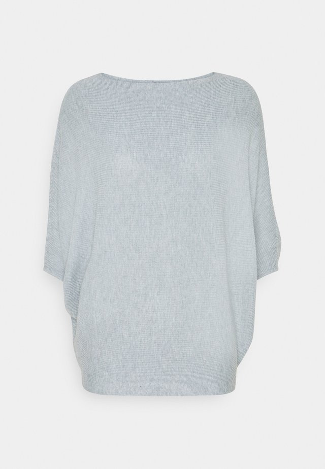 JDYNEW BEHAVE BATSLEEVE - Jumper - blue fog melange