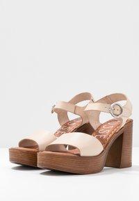 Musse & Cloud - UMA - High heeled sandals - beige - 4