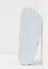 Dorothy Perkins Wide Fit - WIDE FIT FABLE FOOTBED TOE POST - tåsandaler - rose gold glitter - 6