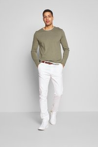 INDICODE JEANS - GOVER - Chinot - offwhite - 1