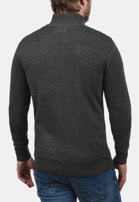 Solid - TRISTAN - Cardigan - dark grey - 1