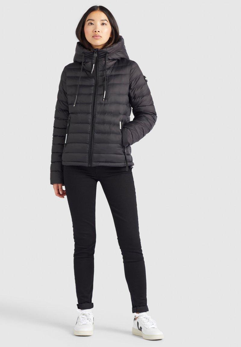 khujo - LOVINA - Winter jacket - schwarz