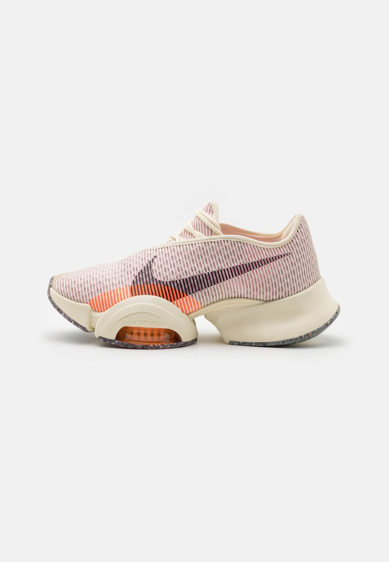 Nike Performance - AIR ZOOM SUPERREP 2 - Sports shoes - coconut milk/black/light arctic pink/total orange/crimson bliss