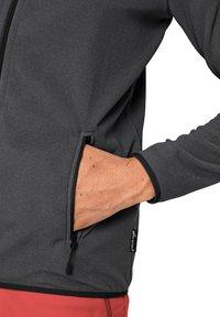 Jack Wolfskin - Fleece jacket - black stripes - 2