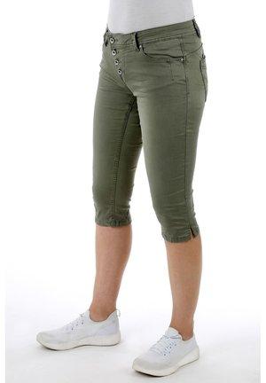 MALIBU - Denim shorts - khaki