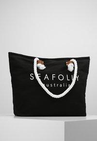 Seafolly - SHIP SAIL TOTE - Strandaccessoire - black - 0