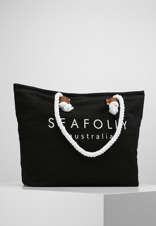 SHIP SAIL TOTE - Accessorio da spiaggia - black