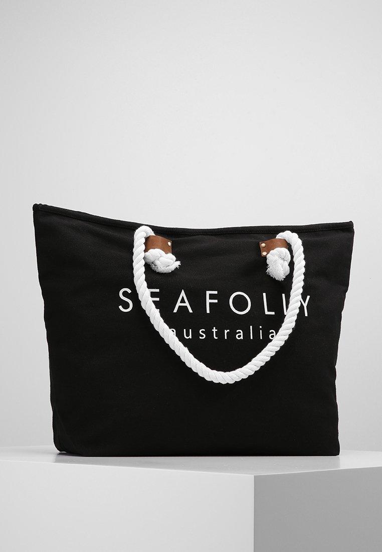 Seafolly - SHIP SAIL TOTE - Strandaccessoire - black