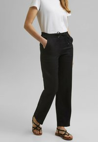 Esprit - Trousers - black - 5
