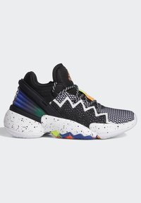 adidas Performance - D.O.N. ISSUE 2 UNISEX - Basketball shoes - core black/footwear white/solar red - 2