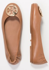 Tory Burch - MINNIE TRAVEL BALLET  - Baleríny - royal tan/gold - 3