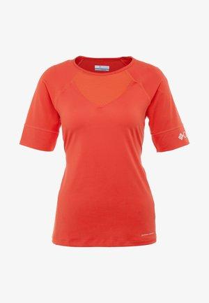 WINDGATES TEE - T-shirt imprimé - bright poppy