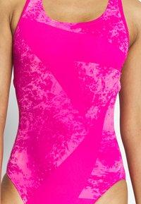 Speedo - BOOMSTAR - Swimsuit - electric pink galinda - 5