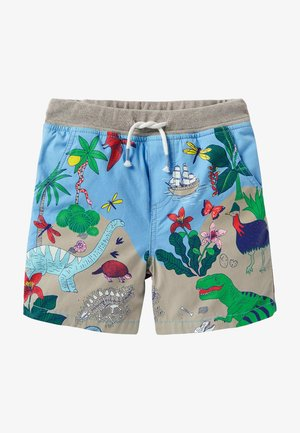 Shorts - surfbrettblau/dinoinsel