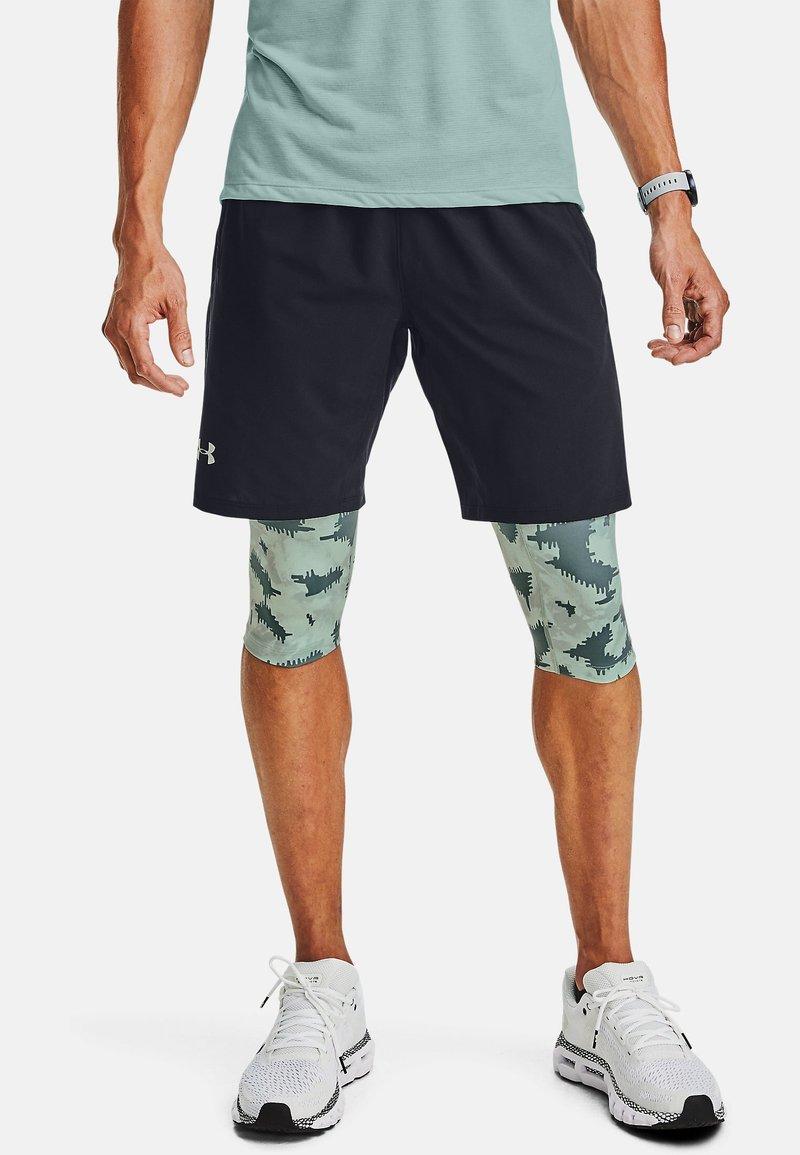 Under Armour - 2-IN-1 - Sports shorts - lichen blue