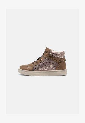 Sneaker high - bronze