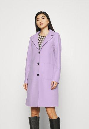 PEONY - Klasický kabát - lilas