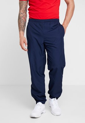 TENNIS PANT - Verryttelyhousut - navy blue