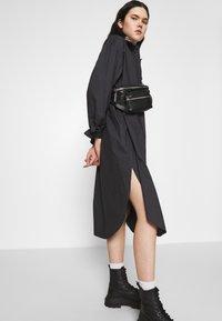 Monki - CAROL DRESS - Shirt dress - grey dark - 3