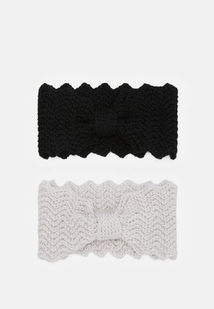 Ear warmers - black/offwhite