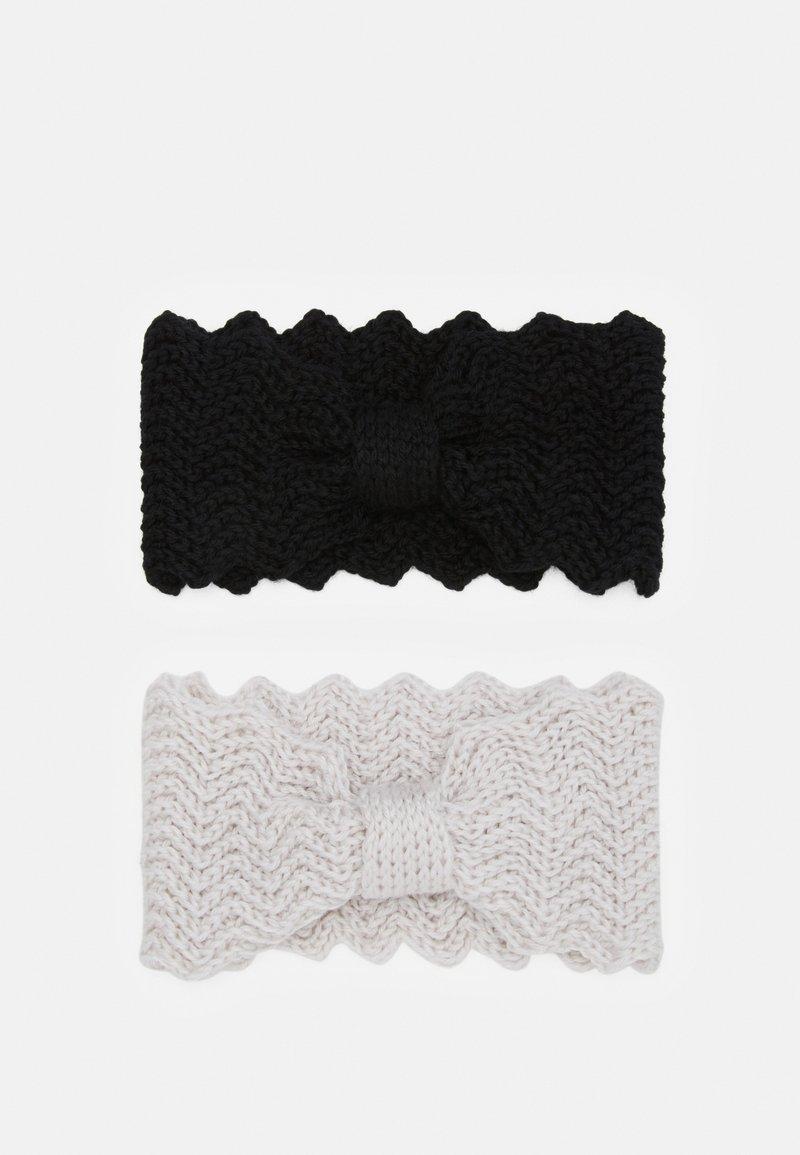 Even&Odd - Ear warmers - black/offwhite