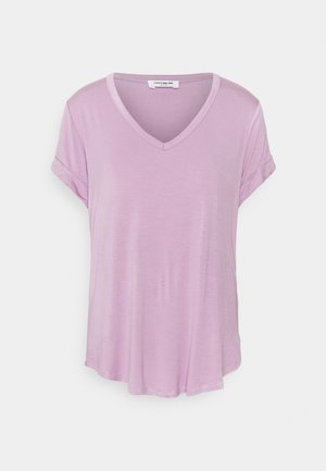 KARLY SHORT SLEEVE - Basic T-shirt - soft mauve