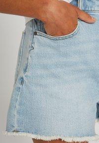 Volcom - STONEY HIGH RISE SHORT - Denim shorts - sun_faded_indigo - 3
