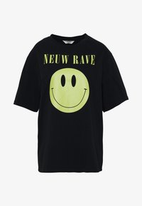 Neuw - NEUW RAVE TEE - Print T-shirt - washed black - 3