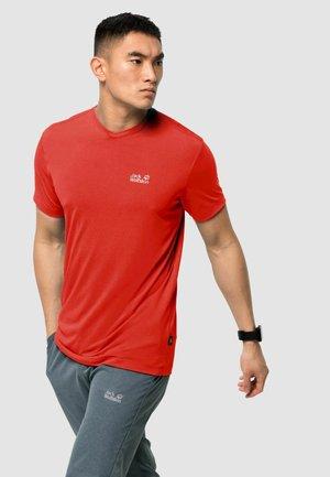 JWP T M - Basic T-shirt - lava red