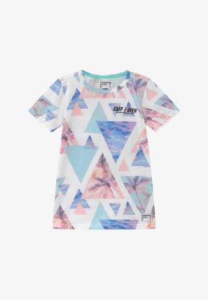 HALM - Print T-shirt - pastel mint