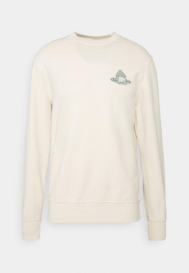 BUDDHA UNISEX - Sweatshirt - white
