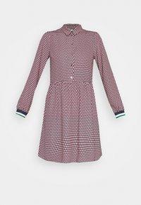 NAF NAF - ARLEQUIN - Shirt dress - multi-coloured - 4