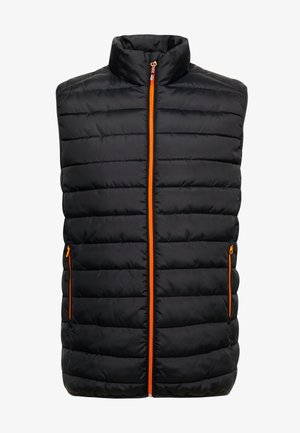 ONSGEORGE QUILTED WAISTCOAT - Smanicato - black