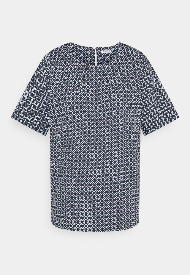 KURZARM - T-shirt print - navy
