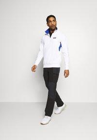 Columbia - BUGA QUARTER ZIP - Sweatshirt - white/lapis blue - 1