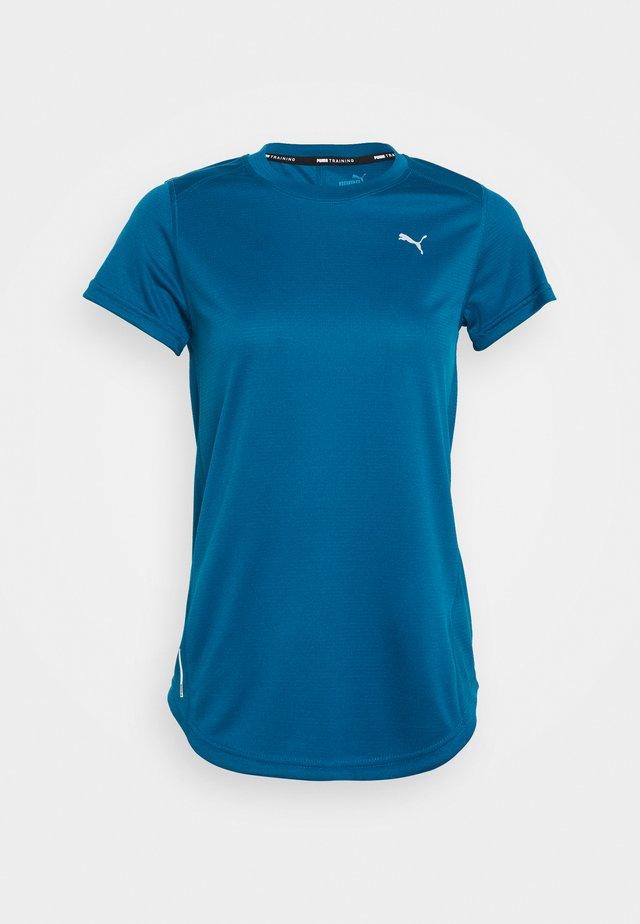 IGNITE TEE - Print T-shirt - digi blue