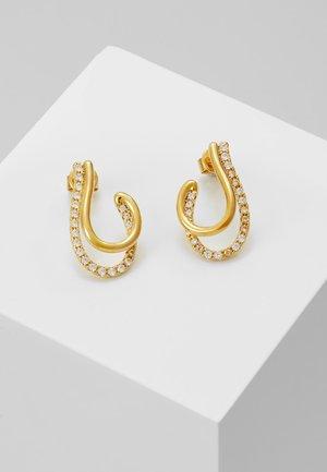 KOY EARRINGS - Oorbellen - gold-coloured